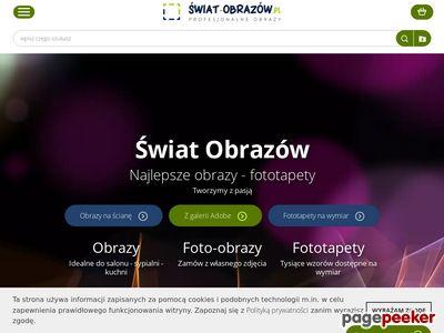 Swiat-Obrazow.pl - obrazy, fototapety, fotoobrazy