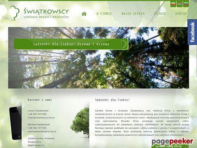 Szkółka drzew i krzewów