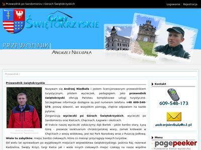 Przewodnik góry świętokrzyskie-przewodnik.com