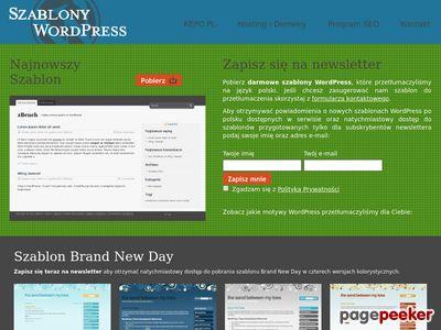WordPress - Szablony