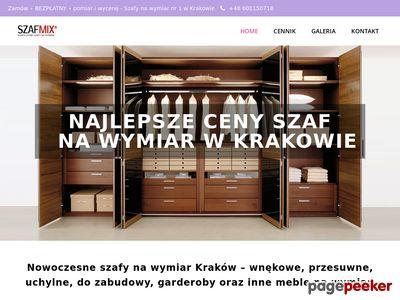 Szafy do zabudowy Kraków - szafmix24.pl