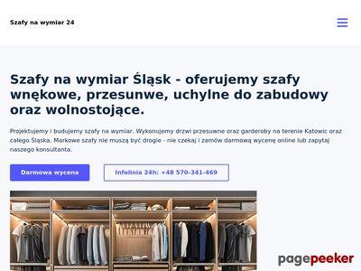 szafy na wymiar - szafynawymiar24.pl