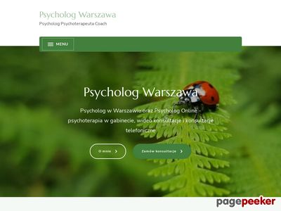 Dobry Psycholog Warszawa. Terapia uzależnień i par.