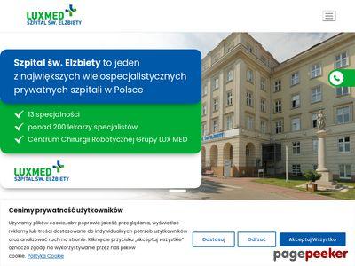 Szpital Sióstr Elżbietanek - Warszawa Mokotów