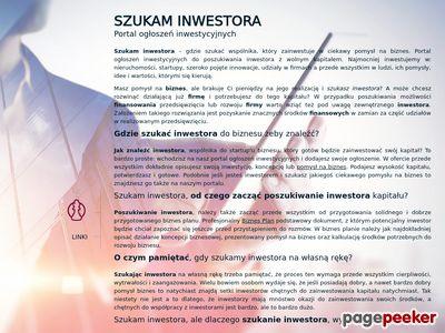 Portal ogłoszeń inwestycyjnych