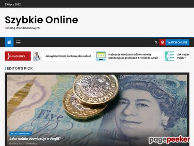 Szybki kredyt przez internet