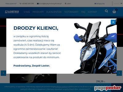 Szybymotocyklowe.pl dorabianie szyb motocyklowych