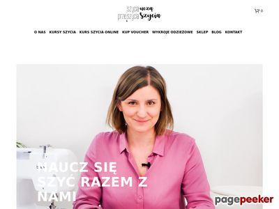 Kursy szycia warszawa - szyciaprzeszycia.pl