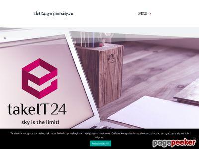 Szczegóły : Strony internetowe Białystok Takeit24