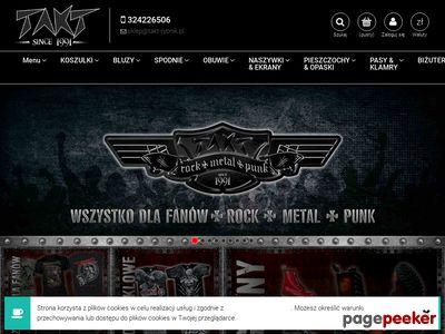 Rock Metal Shop - Takt - spodnie bojówki i szeroka oferta glanów