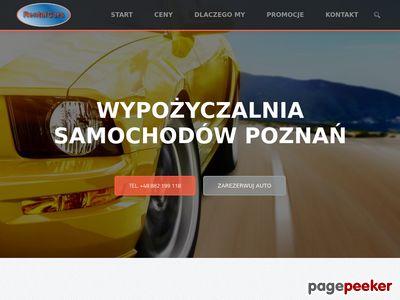 Wypożyczalnia samochodów w Poznaniu