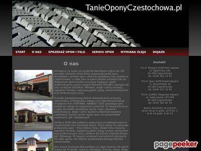 Tanie Opony Częstochowa