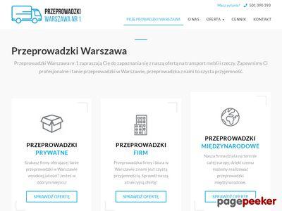 Przeprowadzki Warszawa nr.1 - tanieprzeprowadzkiwarszawa.pl