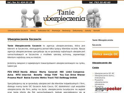 Tanie Ubezpieczenia Szczecin