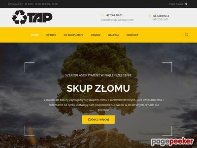 Skup surowców wtórych - Tap-Surowce.com