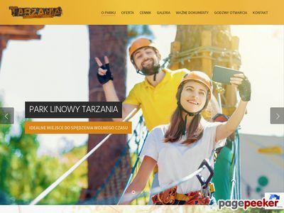 TARZANIA - Parki linowe Szczecin & Czaplinek