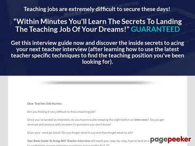Teacher Interview Tips - Your Basic GUIDE To Acing ANY Teacher INTERVIEW