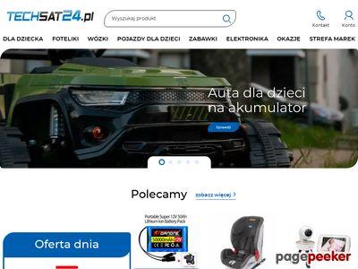 Techsat sklep internetowy ze sprzetem komputerowym