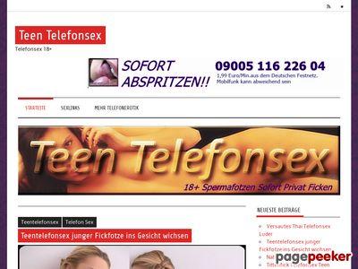 Détails : Teen Telefonsex 18+
