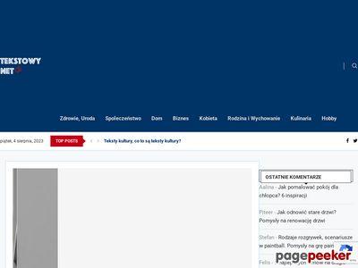 Dekalog zdrowego żywienia - Tekstowy.net