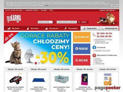 Pełnowartościowa Karma Dla Psów i Kotów