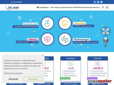 Tel-kab-telewizja,internet,telefon