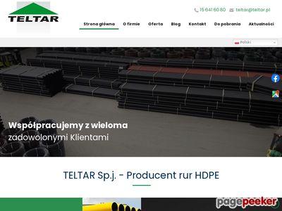 Teltar.eu - rury polietylenowe osłonowe