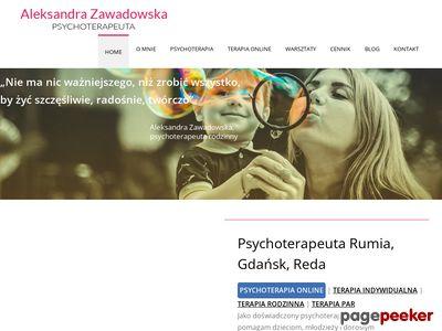 Psychoterapeuta terapiarodzinna.com - Aleksandra Zawadowska