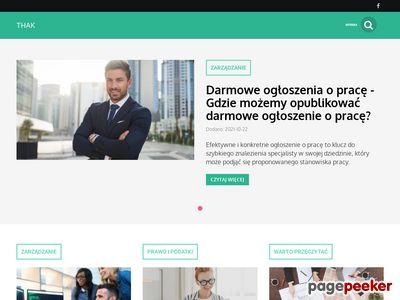 Thak - blog dla przedsiębiorców