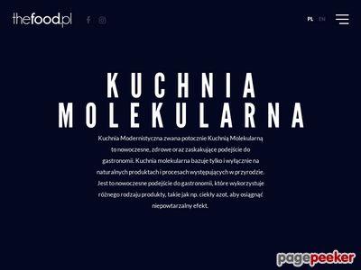 Kuchnia Molekularna | Bar Molekularny | thefood.pl