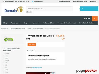 Book Sales Page - Thyroid Wellness Diet