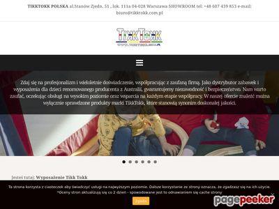 Maty i kojce dla dzieci - TikkTokk Polska
