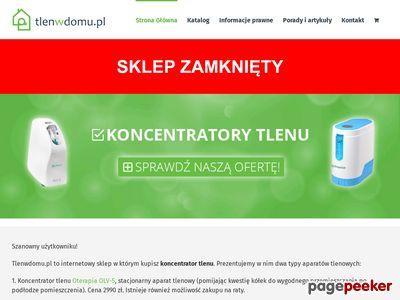 Koncentratory tlenu POCHP - tlenwdomu.pl