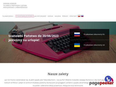 Tłumacz przysięgły rosyjski, ukraiński
