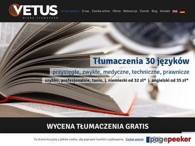 Vetus Biuro tłumaczeń