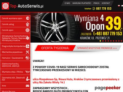 Serwis samochodowy do wymiany opon - top-autoserwis.pl
