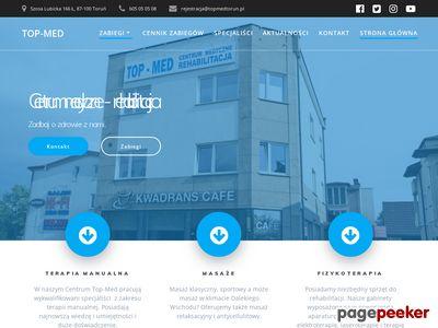 Fizykoterapia Toruń w Centrum medycznym Top-Med.