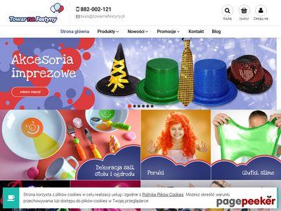 Hurtownia balonów TowarNaFestyny.pl - balony foliowe, balony na hel, balony cyfry