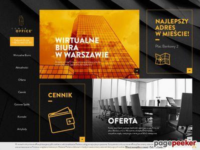 Wirtualne biuro Warszawa tanio - toweroffice.pl