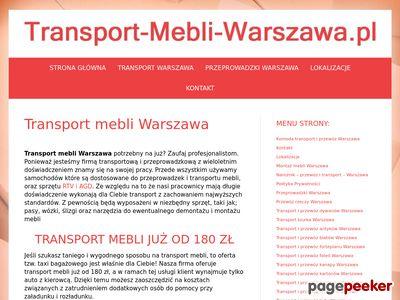 Transport mebli