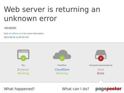 Firma transportowa Warszawa