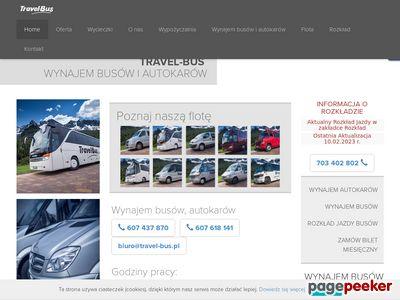 Travel-Bus - Wynajem Busów, Autobusów i Autokarów | Przewóz Osób Żywiec Przewóz Osób