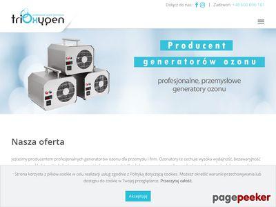 Trioxygen ozonowanie
