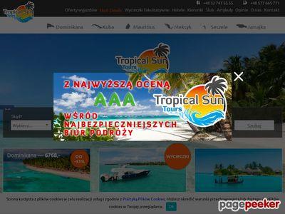 Www.tropicalsun.pl - podróże zagraniczne