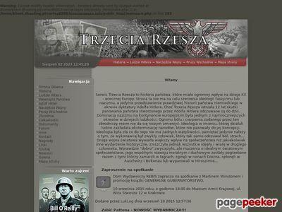 Trzecia Rzesza - historia państwa