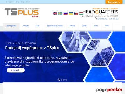TsPlus - Zdalny Pulpit