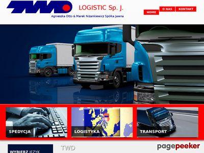 Transport ciężarowy do Szwajcarii - TWD Logistic