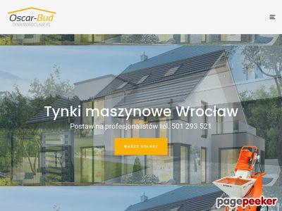 Tynki Wrocław - tynki maszynowe Wrocław