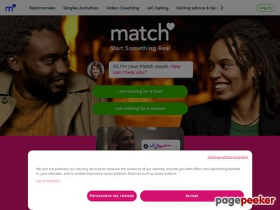 Find Singles in the UK - Make Love Happen with Match.com and Yahoo! Pe