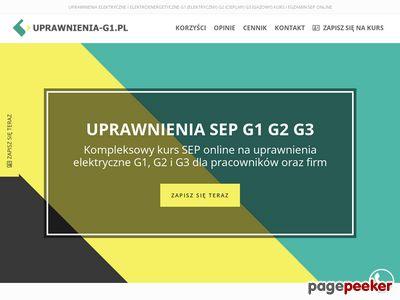 Uprawnienia-G1.pl